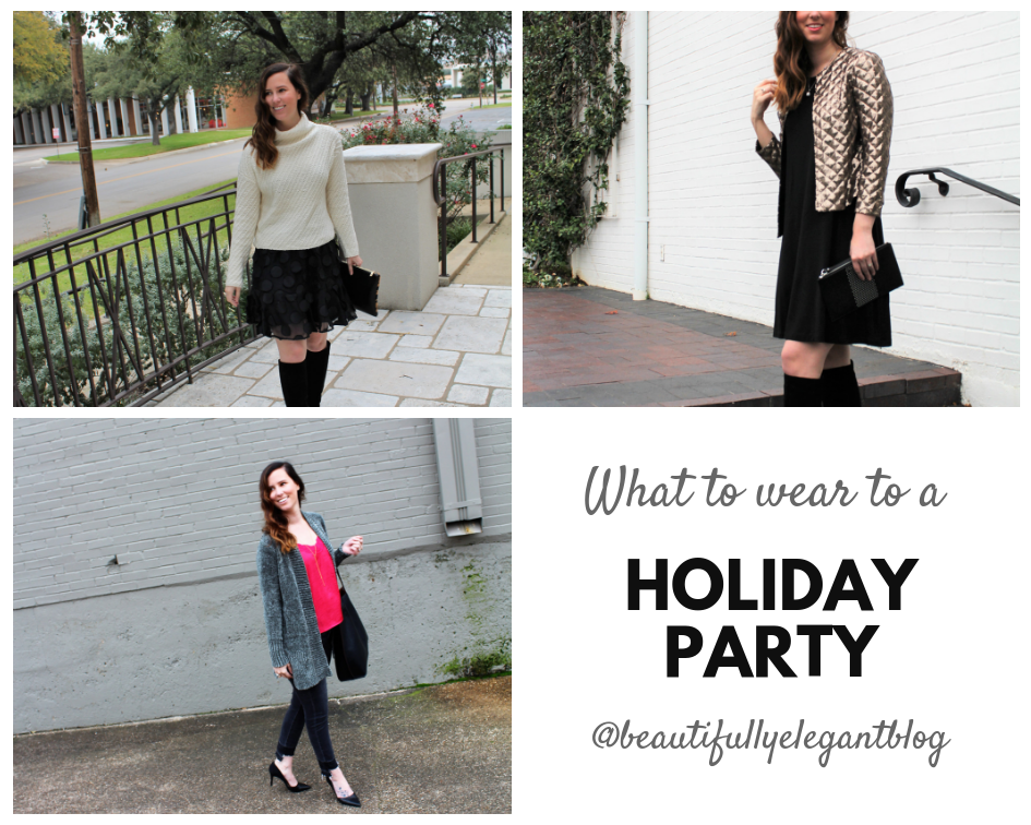 e643f564f5b4 It is that time of year, when you get invited to all the holiday parties.  And then you start your never ending search for the perfect outfit.